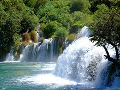 Skradinski buk is the seventh, final and longest travertine barrier on the Krka River. It is one of the most unusual and beautiful landscapes in Krka National Park.