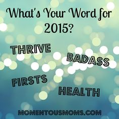 What is your word for 2015