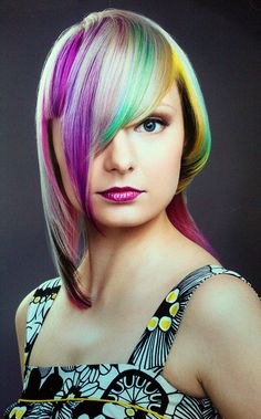Hiukset: Sari, Meikki: Julia, Kuva: Jarno Lindholm Short Hair Cuts, Short Hair Styles, Hair Color, Sari, Beauty, Hair Style, Color, Hairdos, Bob Styles