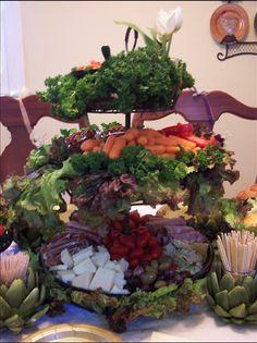 What a wonderful way to display veggies!   MyStyleShare