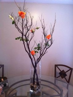 Love this---turn it longwise without a vase for a long table arrangement.