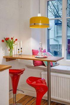 Barras de cocina. Ideas de muebles funcionales para cocinas. #remodelaciondecocinas