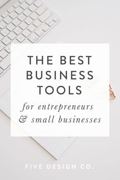 The best business tools for entrepreneurs & small businesses // Our favorite (tried and true!) business tools for small businesses,… Citation Entrepreneur, Online Entrepreneur, Business Entrepreneur, Entrepreneur Ideas, Affiliate Marketing, Online Marketing, Content Marketing, Marketing Tools, Digital Marketing
