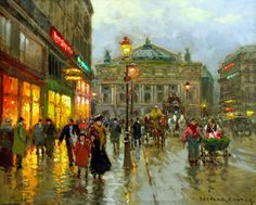 Paris painting | Masterpiece of Art