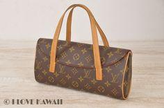 Louis Vuitton Monogram Sonatine Hand Bag M51902