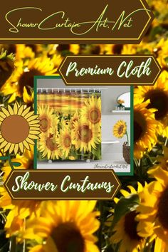 Our floral fabric shower curtains will give your bathroom a touch of natural elegance!