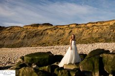 And another one... #charmouthbeach #women #portrait #on-location #wedding #weddingdresses #bridal www.christina-dithmar-photography.co.uk