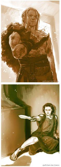 Thor (MCU) - Thor Odinson x Loki Laufeyson - Thorki