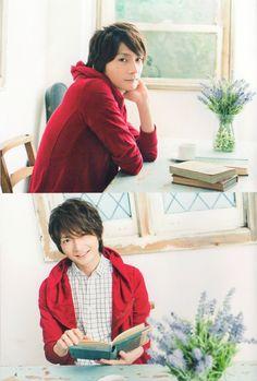 seiyuu:  Shimazaki Nobunaga in his photobook, Nobu Life, #1 Please do not reupload / redistribute my scans anywhere