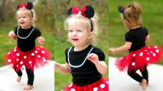 DIY Minnie Mouse Costume for Toddlers | Lacey's Halloween Outfit ...