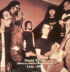 David Byrne Live At The Keswick Theatre, Glenside PA - July 20,1994 Vinyl LP