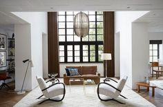 A masculine Amsterdampenthouse - desire to inspire - desiretoinspire.net