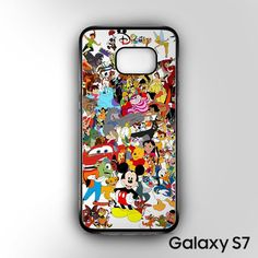disney character collection for Samsung Galaxy S7 phonecases