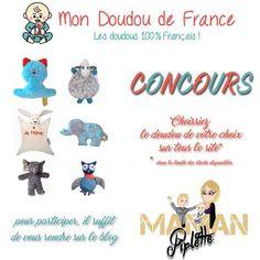 CONCOURS mon doudou de France 100% français