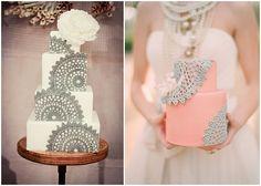 Doily Wedding Accessories: Decor & Ideas Follow Bride's Book for more great inspiration.