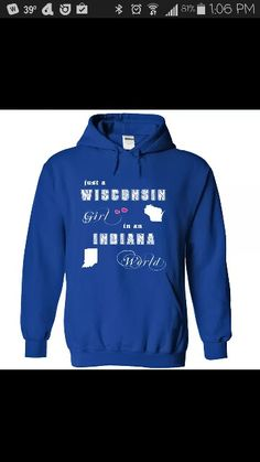 Just a Wisconsin Girl Sweatshirt Outfit 5210909dc