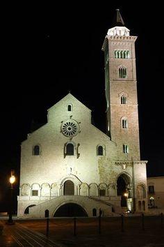 Se siete dalle parti di #Trani, vi consigliamo di fare una puntata nel borgo antico della città per visitare la Cattedrale di San Nicola Pellegrino, splendido esempio di romanico pugliese, situata a ridosso del molo, a due passi dal castello. Per saperne di più, consultate il nostro portale    Photo credits:   http://www.viaggiareinpuglia.it/at/11/luogosacro/778/it/Cattedrale-di-San-Nicola-Pellegrino-Trani-(Barletta-Andria-Trani)