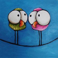 Twittering Girls, by Lucia Stewart