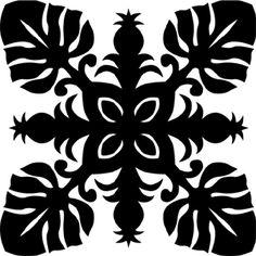Hawaiian Quilt Tile 7 : HaoleKid