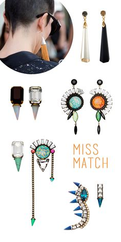 Love the-mix-n-match-earrings
