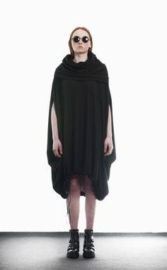 HebeQuss - Sukienka HQ Black