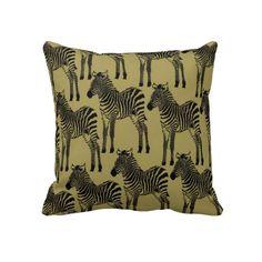 Zebras Pillows