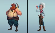 ArtStation - Vadim Bahryi - Собрал тут подборочку персонажей из нашей игры от разных художников Fictional Characters, Art, Art Background, Kunst, Performing Arts, Fantasy Characters, Art Education Resources, Artworks
