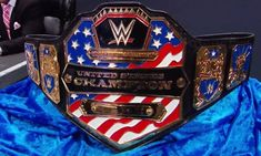 A few weeks ago Dolph Ziggler won the WWE United States Championship at the Clash of Champions pay-per-view when he won a triple threat. Wwe United States Championship, Wwe Championship Belts, World Championship, Wwe Belts, Wwe World, Wrestling News, Fancy Cars, Professional Wrestling, Wwe Superstars