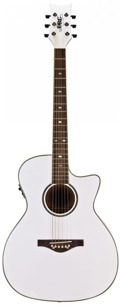 Wildwood Artist Acoustic-Electric (Pearl White)