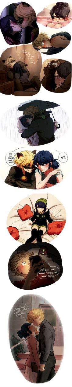 Cuz my heart is so mean for making me feel things… plus all the lousy hurried lines and uneven experimental coloring ; what is wrong with me these days P The. Miraculous Ladybug Kiss, Miraculous Ladybug Fanfiction, Comics Ladybug, Meraculous Ladybug, Ladybugs, Pinturas Disney, Miraculous Ladybug Wallpaper, Princess Drawings, Arte Disney