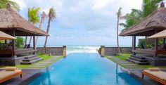 Legian Bali Beach House Open Gate To Seminyak Beach