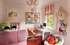 great idea for a girl bedroom