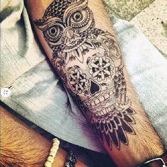 Men's Skull Tattoos