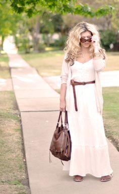 ...love Maegan ~ Fashion, DIY, Home, Lifestyle: Ways to Wear it: Maxi Dresses & Skirts ~ blog