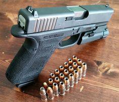 Custom glock 19 gen 4 all self-done Find our speedloader now! http://www.amazon.com/shops/raeind