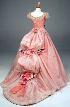 1860s ballgown  Retro Rack: Book Outfits ~ In the Pink with Soulless