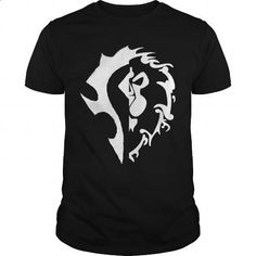 World of Warcraft Bifactional Shirt - #hostess gift #bridal gift. MORE INFO => https://www.sunfrog.com/Gamer/World-of-Warcraft-Bi-factional-Shirt-Black-Guys.html?60505