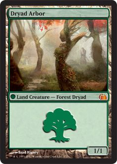 Magic The Gathering From the Vault: Realms: Dryad Arbor Card Kingdom