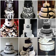 black+white+and+red+wedding+colors+and+themes | Black & White Wedding Ideas