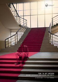 Art Directors Club Creative Awards: Stairs