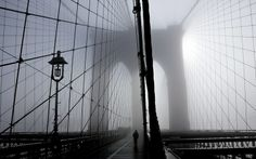 Brooklyn Bridge. Photographer unknown