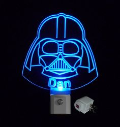 **Comes with or without a name, If you would like a Name please include Name and LED Light Color, in notes at checkout  Available Colors, Blue, Green, Red, Yellow, Orange, Pink/Purple, White and Multi