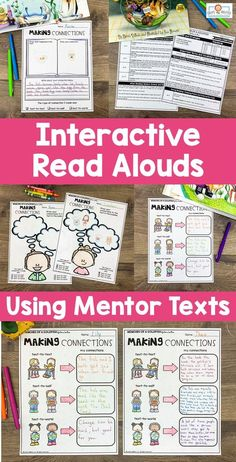 These interactive read aloud lesson plans use 75 different picture books to teach over 40 different reading comprehension skills. Each lesson has a carefully selected picture book to use as a mentor text. This resource is perfect for the 2nd, 3rd, 4th, or 5th grade classroom! #interactivereadalouds #readalouds #mentortexts Mentor Sentences, Mentor Texts, Recess Queen, Text To Self Connection, Confusing Words, Interactive Read Aloud, Reading Comprehension Skills, 5th Grade Classroom, Picture Books