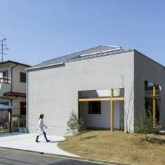 Uji House: ALTS DESIGN OFFICEが手掛けたラスティック家です。