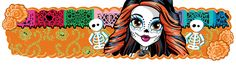 Monster High images Banner Skelita wallpaper and background photos