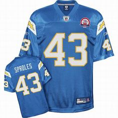 Sproles jersey Blue #43 Reebok NFL San Diego Chargers jersey  ID:97772765  $20