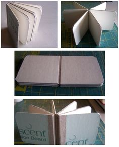 How to make a boardbook from scratch.  Because you never know when you'll need a boardbook.