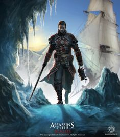 Cover Concept - Characters & Art - Assassin's Creed Rogue