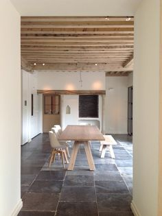 Floors, walls, beams Consider floors for bath in bedroom next to media