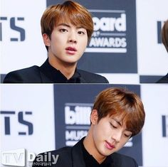 Jin just being effortlessly beautiful as usual
